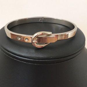 Sterling Silver Belt Buckle Bracelet